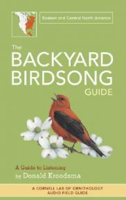 Backyard Birdsong Guide Eastern & Central North America by Donald Kroodsma book cover