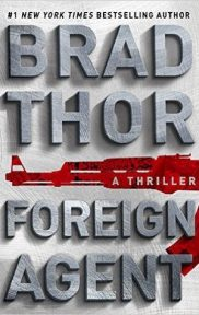 Foreign Agent by Brad Thor book cover