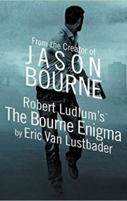 The Bourne Enigma by Eric Van Lustbader book cover
