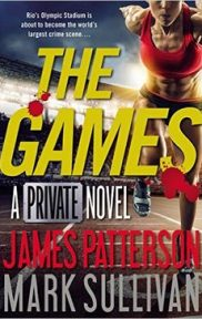 The Games A Private Novel by James Patterson book cover