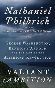 Valiant Ambition by Nathaniel Philbrick book cover