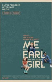 Me and Earl and the Dying Girl movie cover