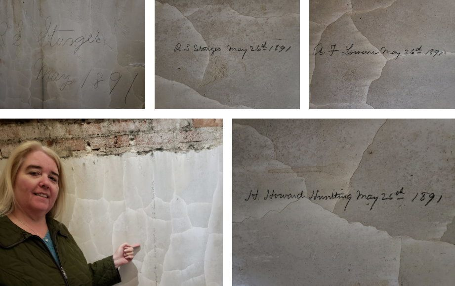 Signatures in Plaster